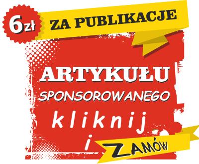 6 zl za publikacje artykuły sponsorowane