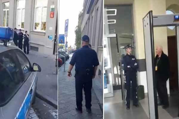 Atak w Szczecinie! Mężczyzna z siekierą