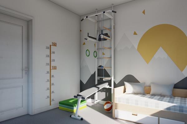 Drabinka gimnastyczna w domu – podstawowe informacje