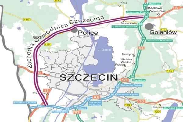 Budowa zachodniej obwodnicy Szczecina