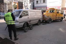 Bezprawne odholowywanie aut!