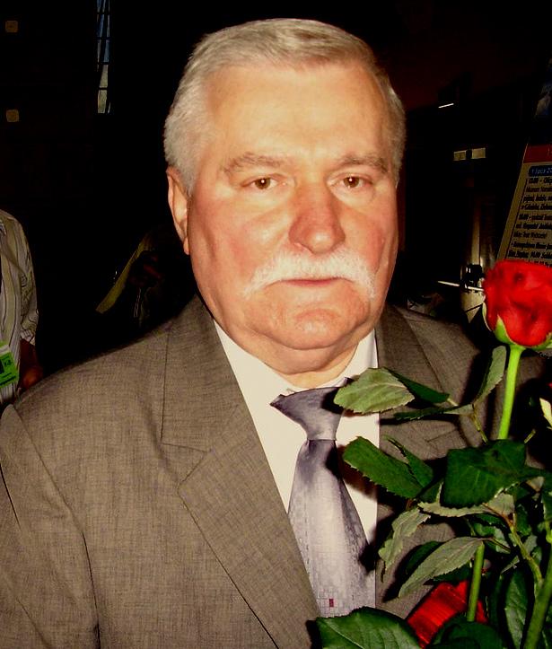 Lech Wałęsa na Mistrzostwach Świata w Karate