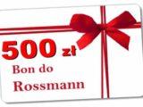 Promocja Rossmann Łobez  bon 500 zł