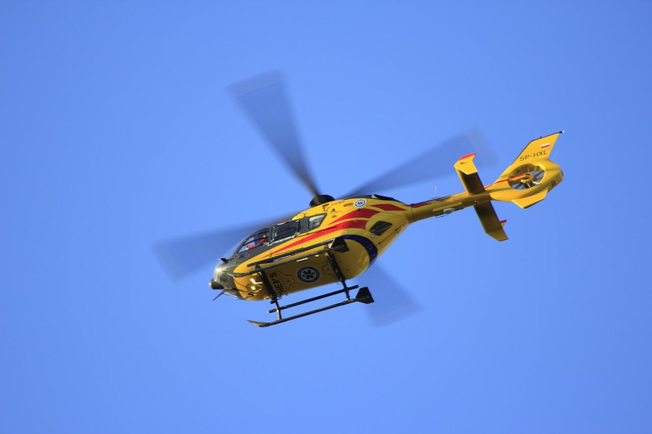 Lądowisko dla helikopterów w Szpitalu w Zdrojach!