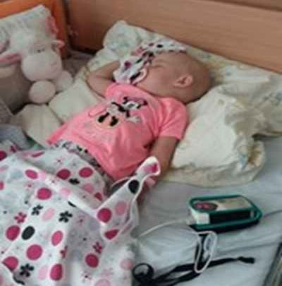 Tak trudno zrozumieć, chorobę małej Alicji, która ma zaledwie rok i dziewięć miesięcy.