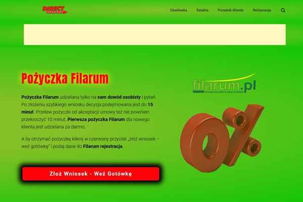 Pożyczka Filarum Kalisz Pomorski  zadzwoń 600 111 551