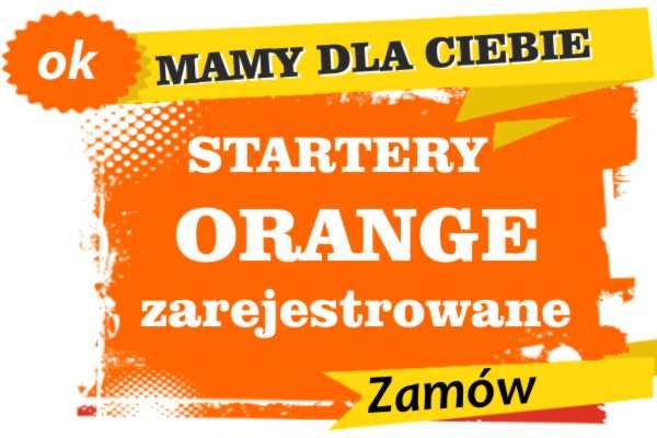 Sprzedam zarejestrowane karty sim orange Kalety  zadzwoń 887 332 665