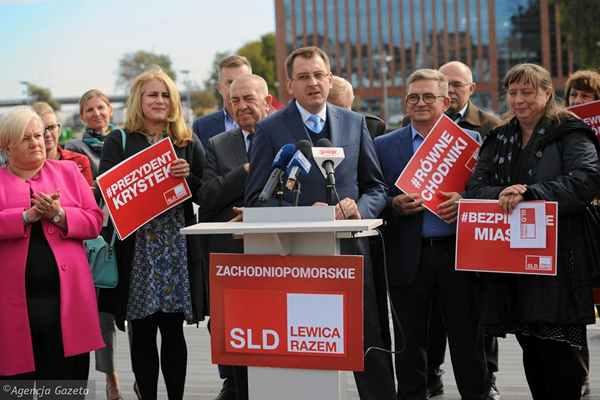 Obietnice polityków SLD. Lewica i seniorzy.